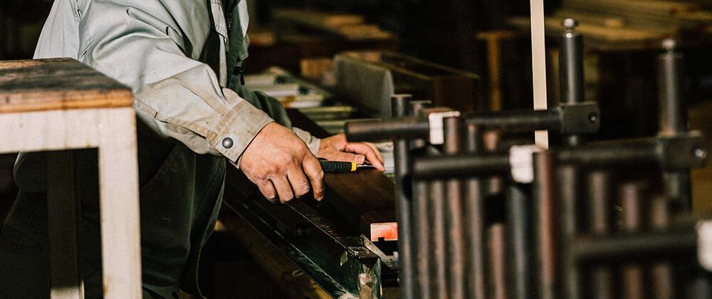 ラッピング造作材事業